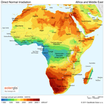 Dni solar map africa and middle east1