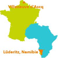 Carte france afrique ombepo