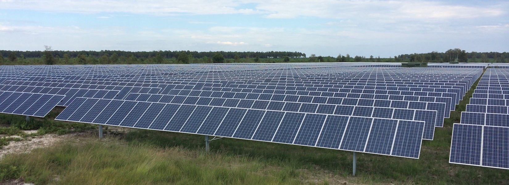 Projet de centrale solaire gabardan