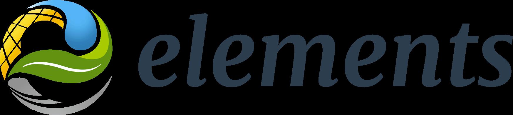 Elements logo variante coul