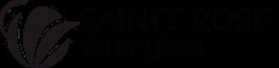 Logo ste de projet ste rose energies noir