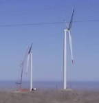 Deux eoliennes ombepo