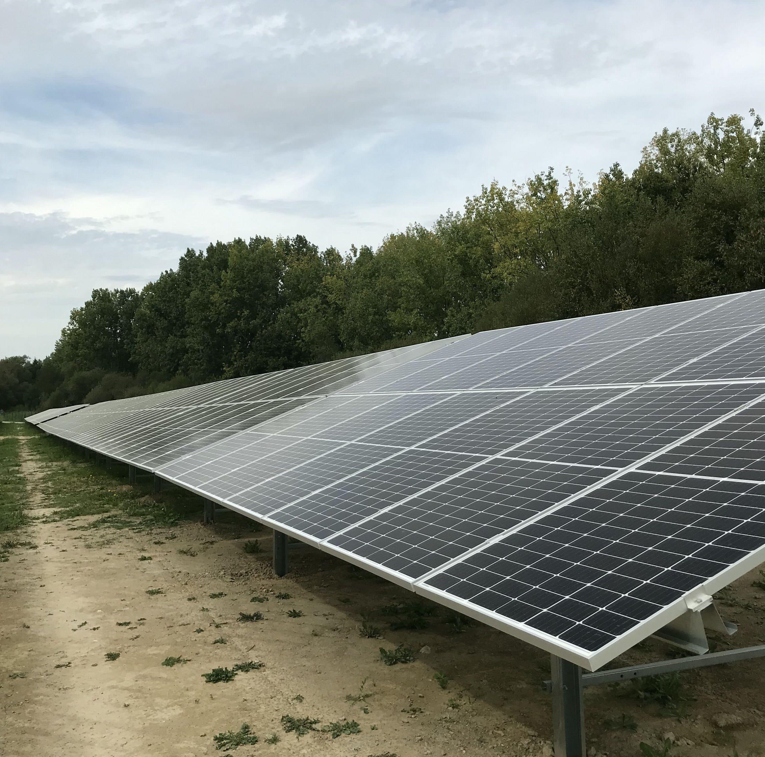 centrale solaire loudia