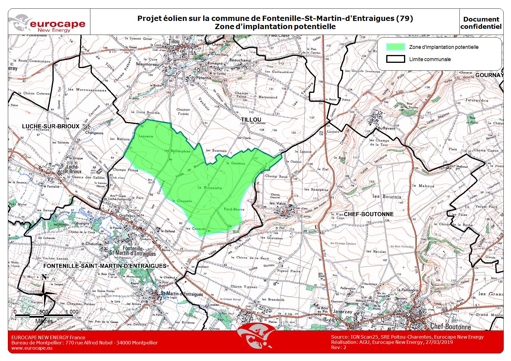 plan Fontenille Saint Martin d Entraigues