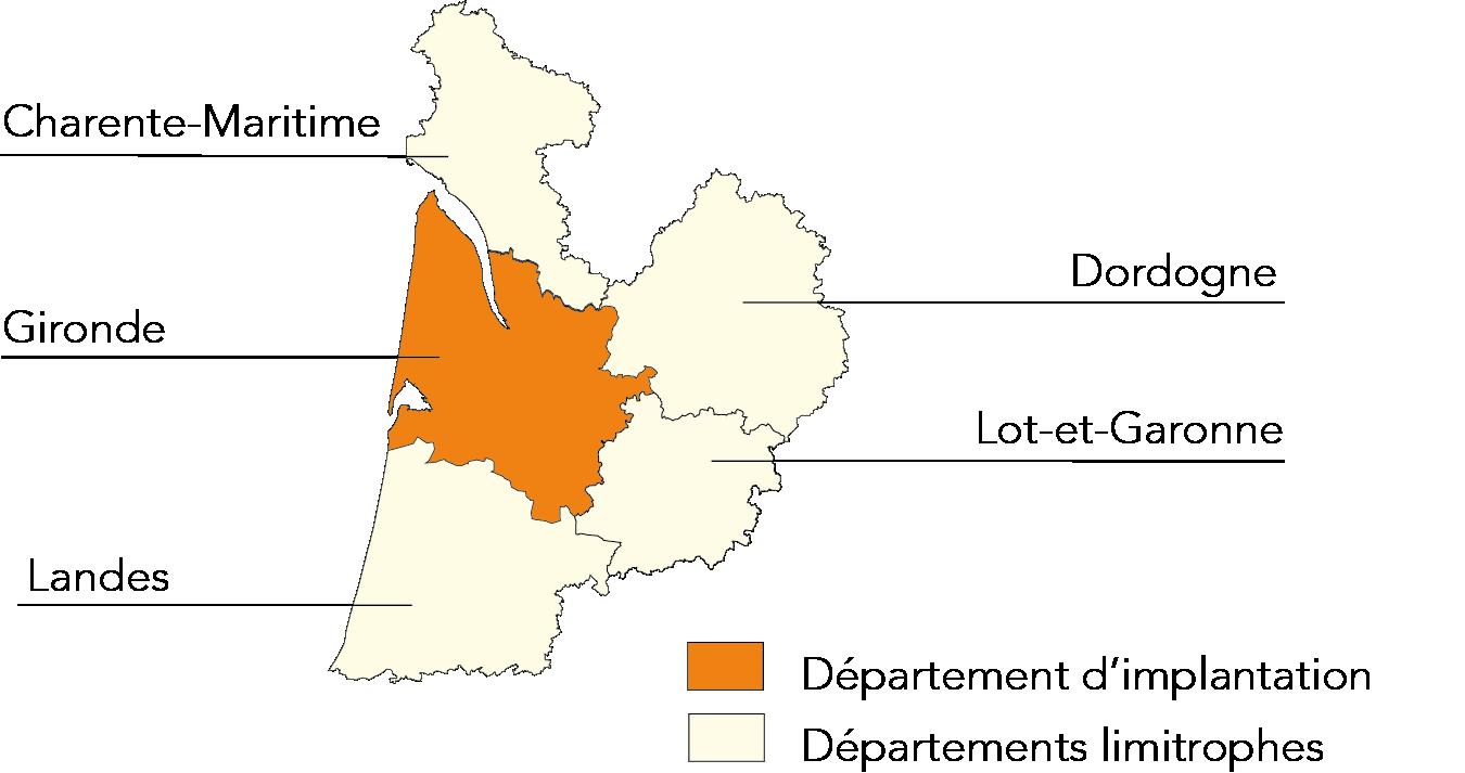 Carte perimetre Gironde