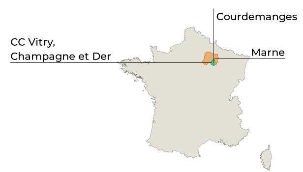carte perimetre courdemenges