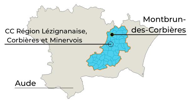 carte perimetre Montbrun